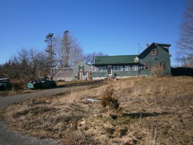 Bold Coast Seaweed House - Lubec - Haus