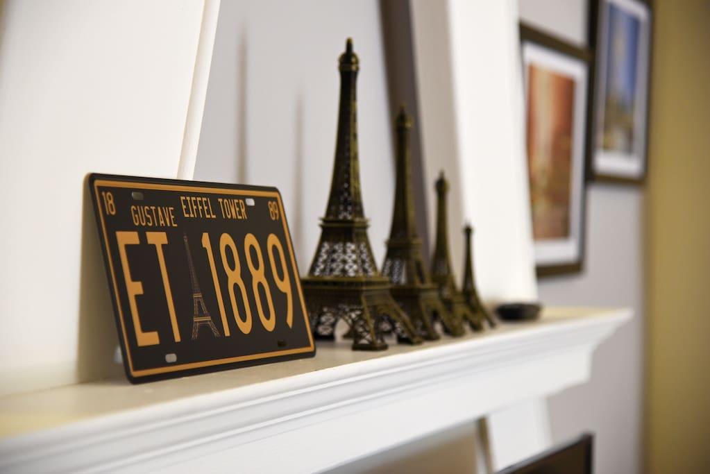 Eiffel Tower Deco