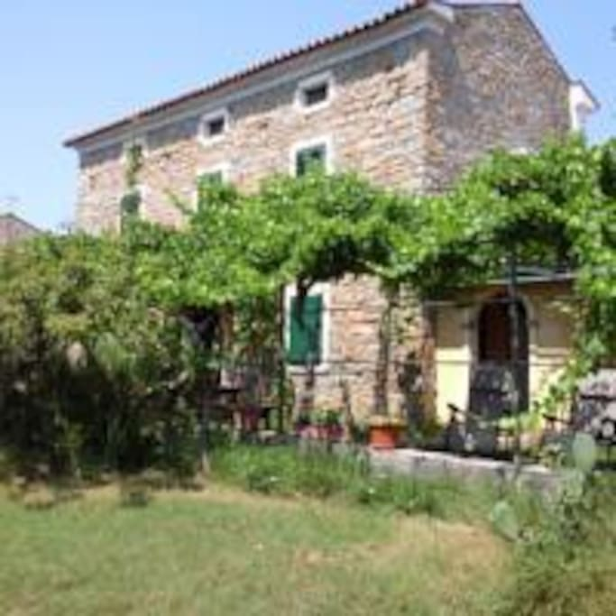 The 150 years old istrian house