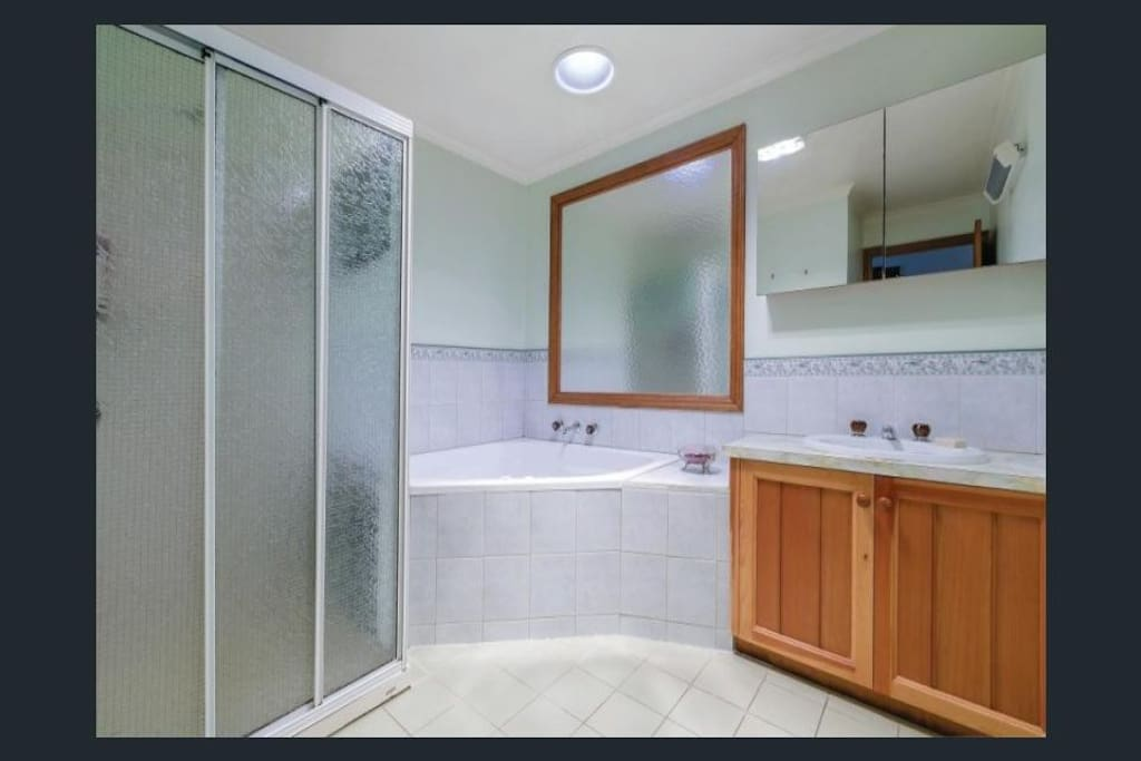 Private Bathroom with spa