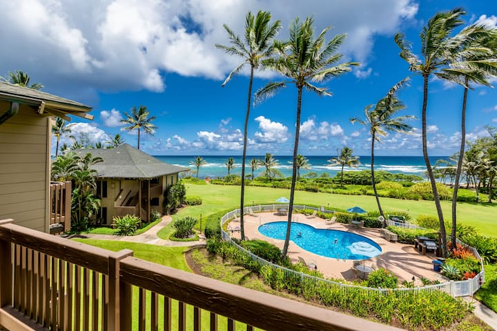 Oceanfront, Private Lanai, Steps to Beach
