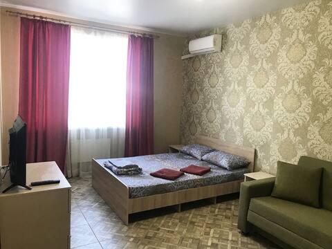 Уютная квартира с евроремонтом в пгт. Джубга