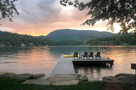 Lake Toxaway - Lake Front Home