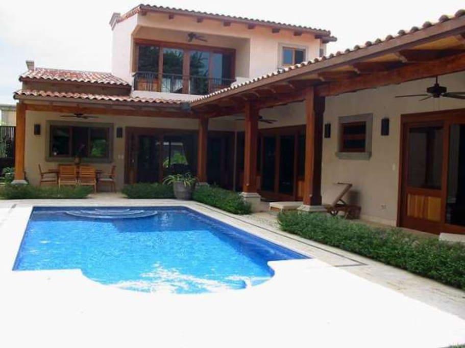 Very Private Pool in Back Garden