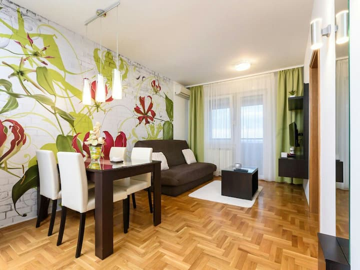 Modern apartment with amazing view on Novi Sad