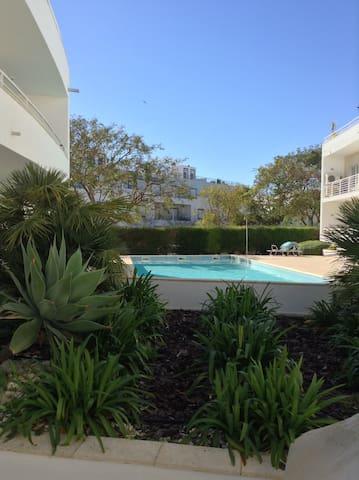 Apartamento T2 com piscina Santa Luzia - Santa Luzia - Apartemen