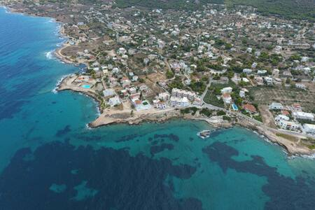 50m² flat on the saronic sea - Aegina Island - Vathi - Квартира