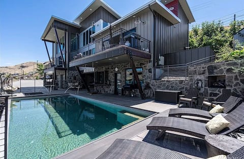 Stunning Lakeview Home with Private Pool & Hot Tub