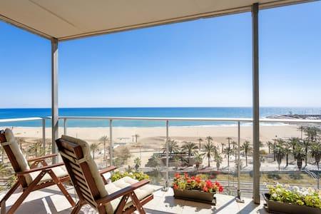Apartament 1a línia de mar - a prop de Barcelona