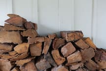 Complementary winter firewood at your doorstep.