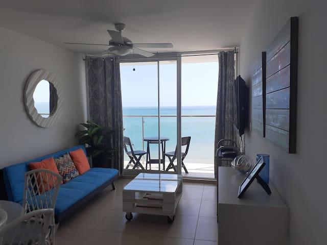Beach front Condo - El Palmar San Carlos