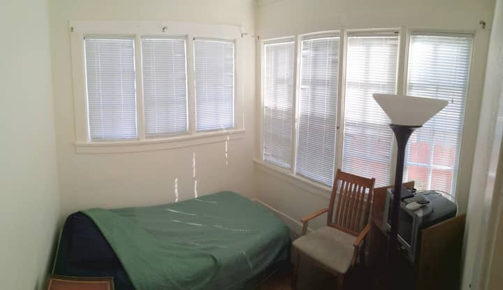 #2 Private bedroom and adjoining office room.
