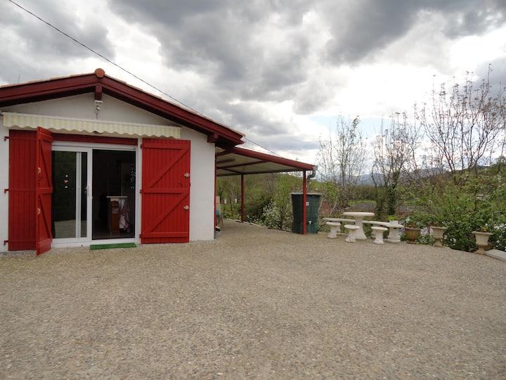 Maison au coeur des montagnes basques