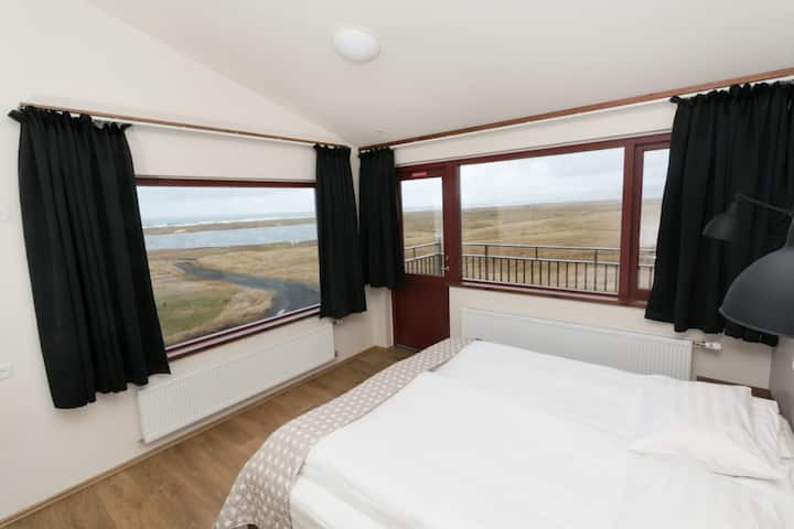 Langaholt - Comfort XL Double Room with Glacier and Sea View