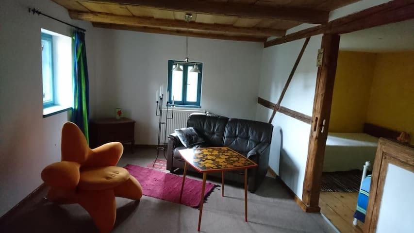 Zimmer Lyla mit Frühstück in einem Bauernhaus