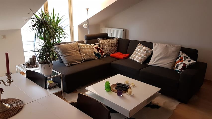 98 m² - 3 Zi. Whg. DG m.Balkon, PKW Stellplatz - Oberhaching - Apartment