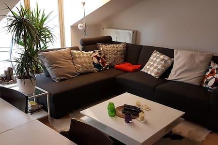 98 m² - 3 Zi. Whg. DG m.Balkon, PKW Stellplatz - Oberhaching - 公寓