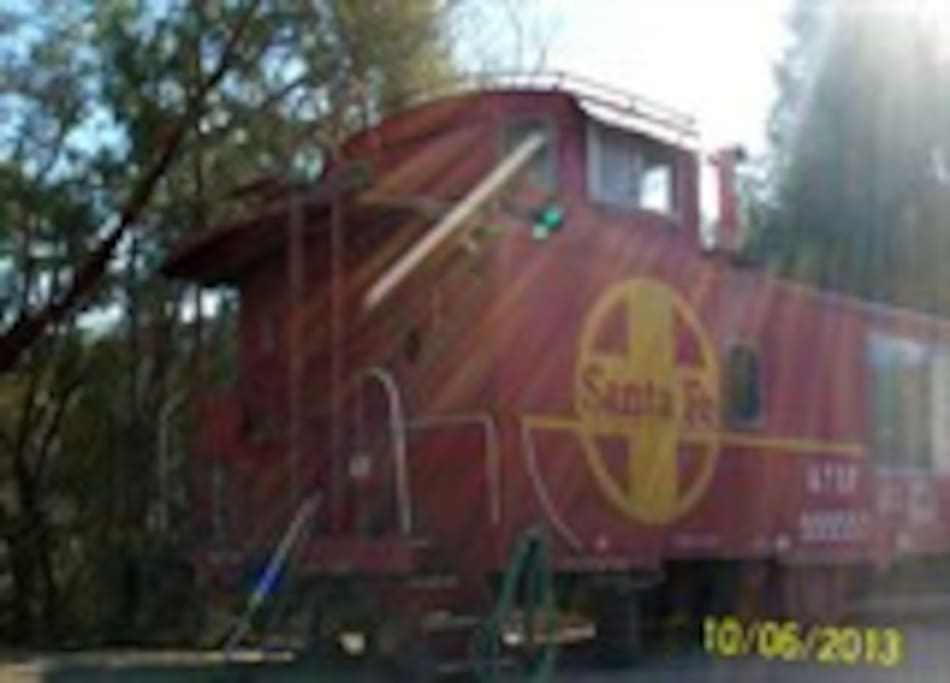 Stay in a Caboose