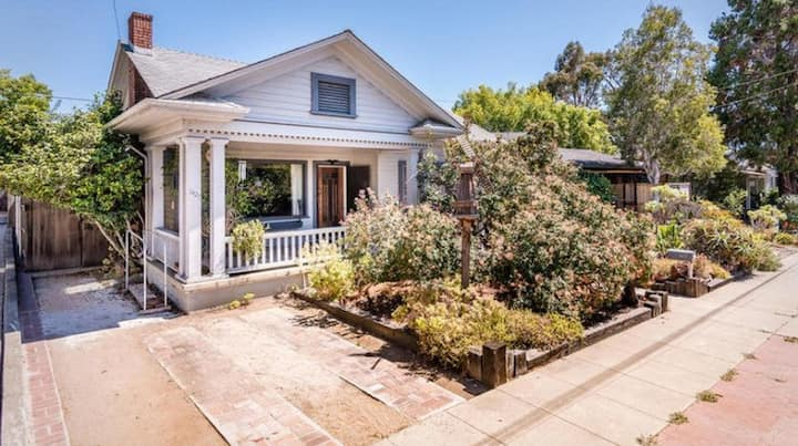 Historic craftsman home in downtown SLO