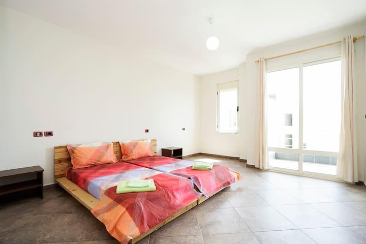 ECO FRIENDLY APPARTMENT - Durrës - Apartament