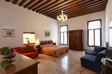 Flat near San Marco with a nice canal view