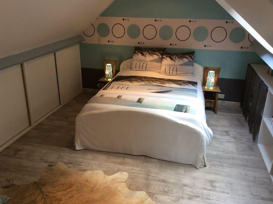 Grande chambre priv e spa chambres d 39 h tes louer for Chambre hote wallonie