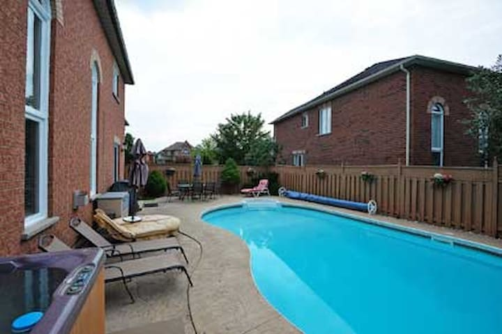 BEAUTIFUL & Furnished Two Private Bedrooms - Brampton - Haus