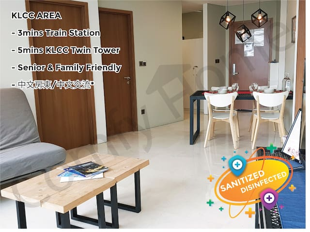 KLCC/K.L City **CENTRAL** Comfy & Cozy Apartment