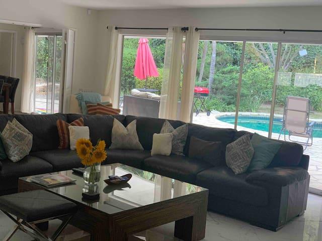 Villa in prestige area Bel Air near Beverly Hills