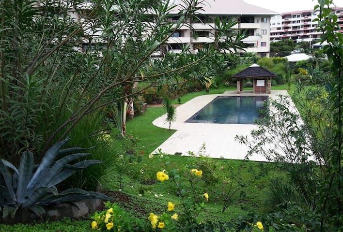 Agréable F2 dans résidence avec piscine