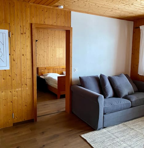 Cozy small apartment in Swiss Chalet