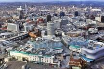 Britain's second city - Birmingham Let's go shopping! 22m Easy train.