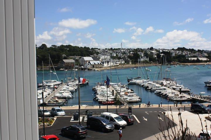 Port d'Audierne, retour du marché