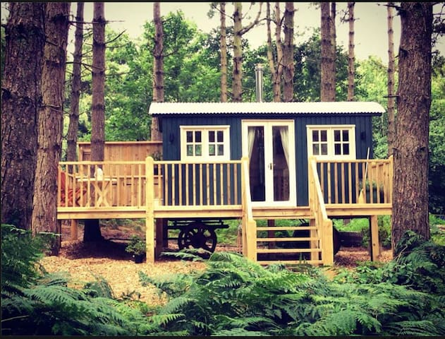 Enchanted Woodland Glamping in Norfolk - Grimston - Zomerhuis/Cottage