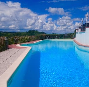 Apt Trilo with pools,WIFI, BBQ - Montaione