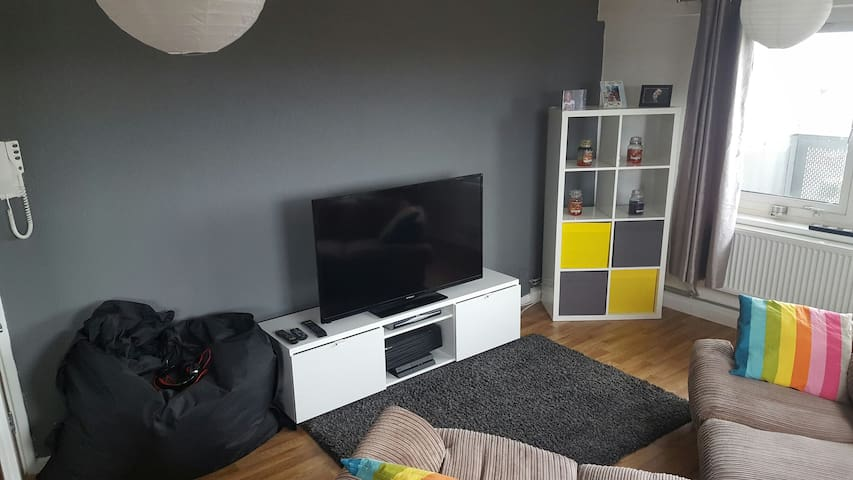 Large apartment with views of Liverpool - Birkenhead - Apartament