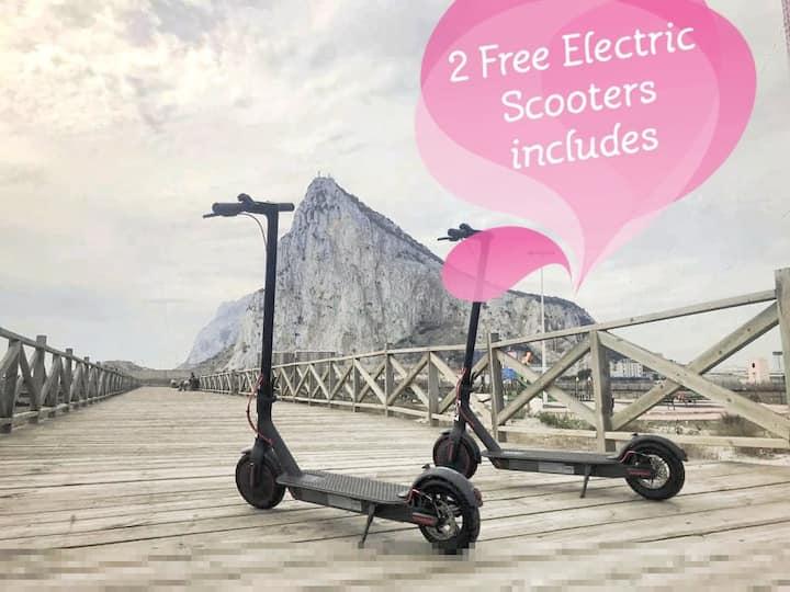 Hosting+Electric Scooter - Discovering Gibraltar!!