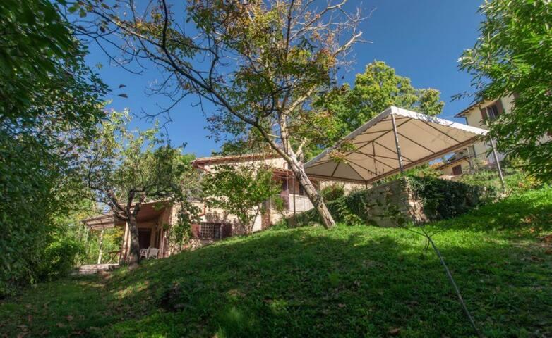 Elegant home between Perugia Assisi, pool shared
