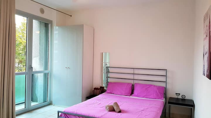 One Bedroom Flat with Small Balcony and Kitchen