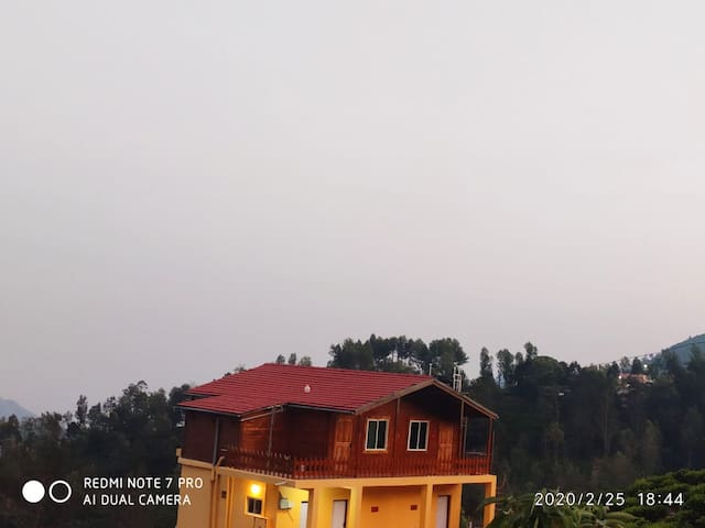 Wooden villa in Tea Estate,,  An amazing view..