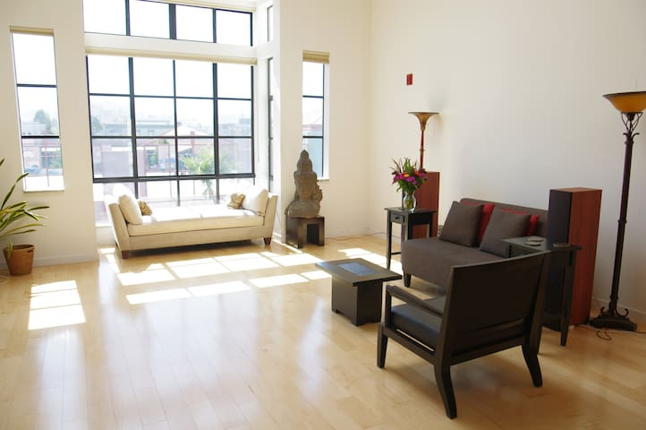 Modern Loft in the Mission with Sutro Tower View! - San Francisco - Loft
