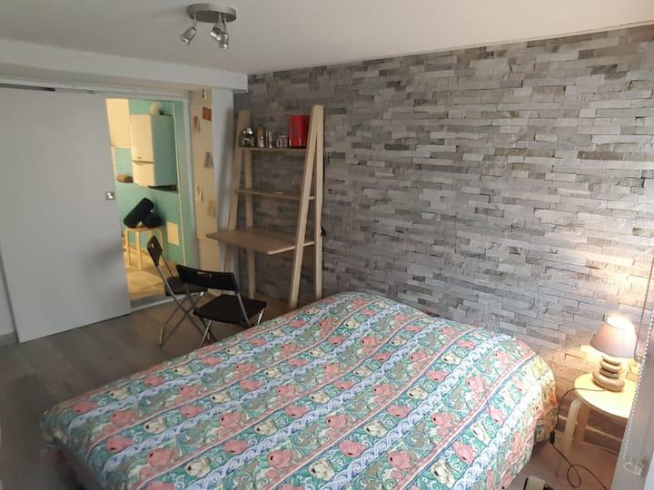 Chambre cosy avec SDB privée aux portes de Colmar