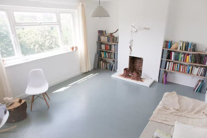 Bright single room Hoxton with views over a park - Lontoo - Huoneisto