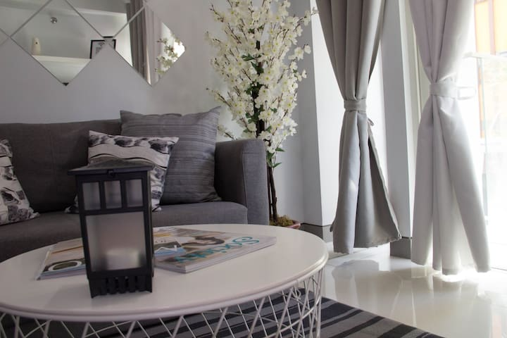Monochromatic Home at Parkside Villas across NAIA3