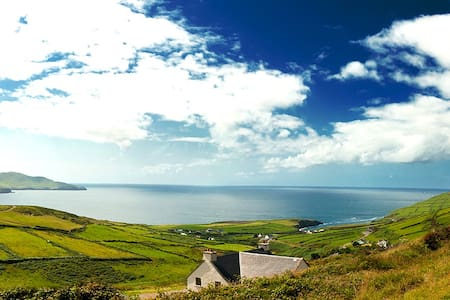 Ballinskelligs Co. Kerry glen view stfinansbay