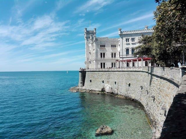 Nice room near center of Trieste