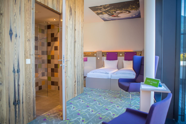 Trendige Design-Zimmer mit Liebe zum Detail