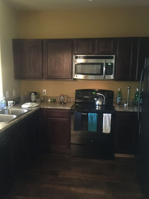 Fully functional kitchen!