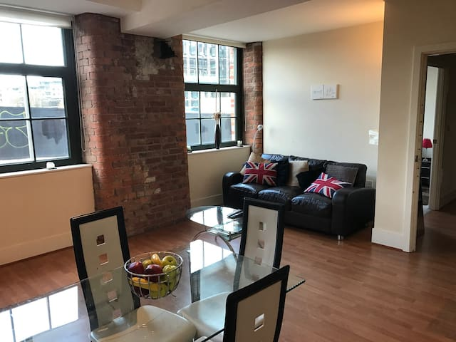 COZY DOUBLE BEDROOM IN CITY CENTRE - Manchester - Apartment