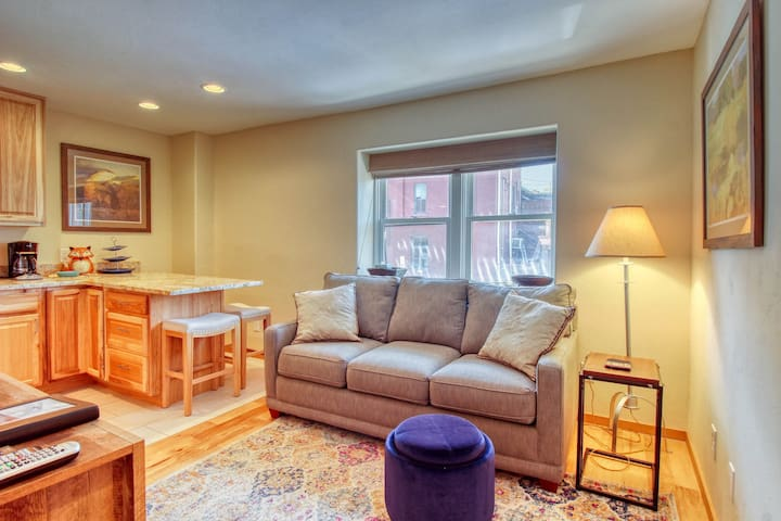 Charming open layout retreat w/prime location in downtown Durango!